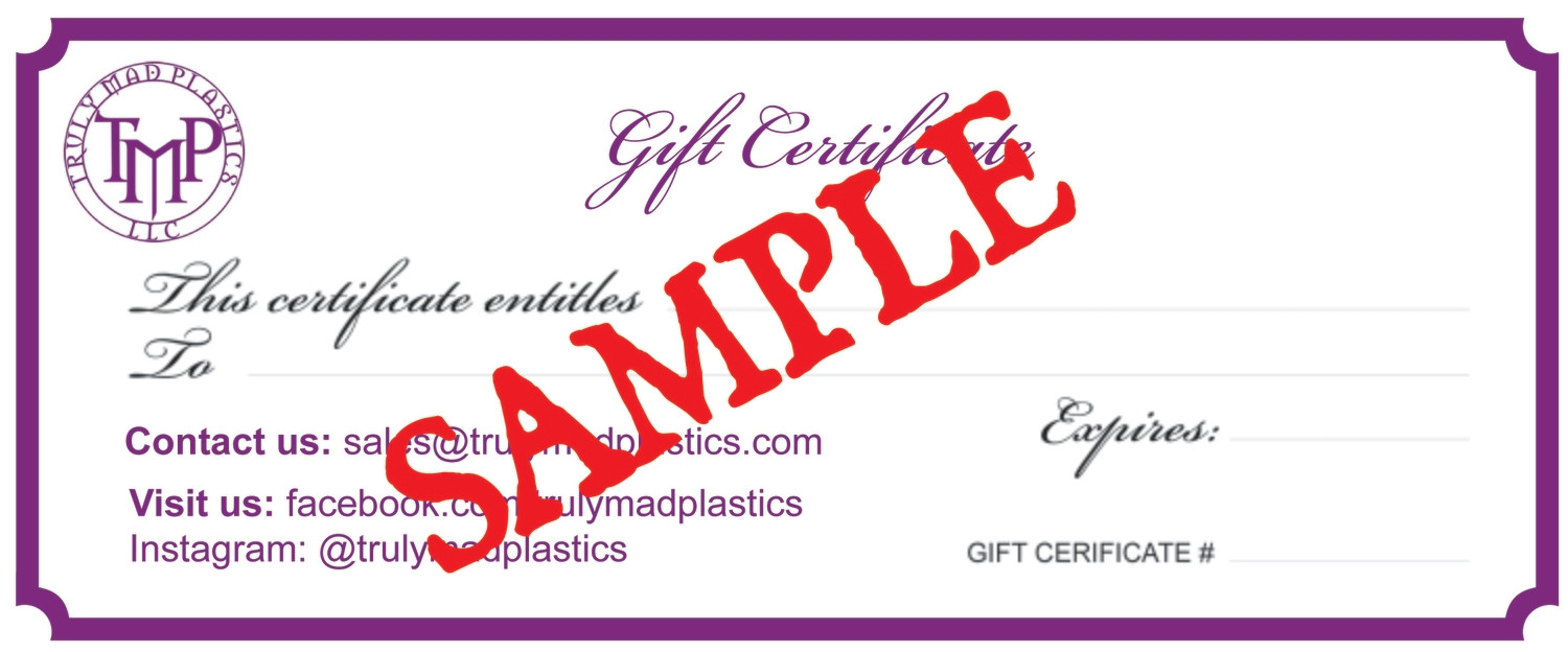 75.00 Gift Certificate