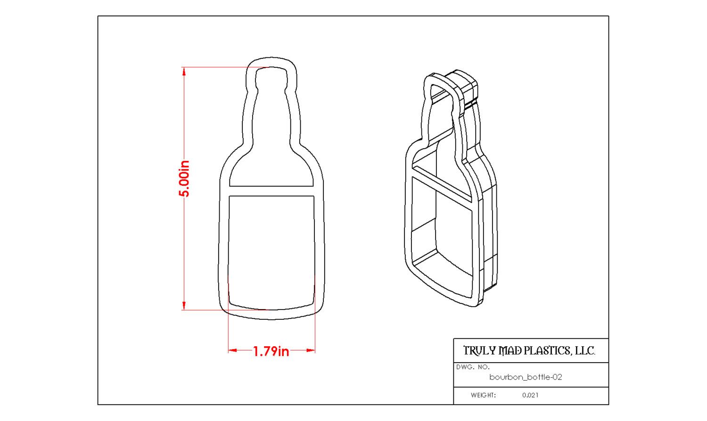 Bourbon Bottle 02