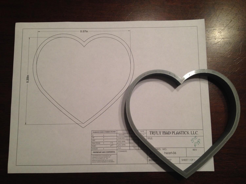 "Heart 06 5.5"""