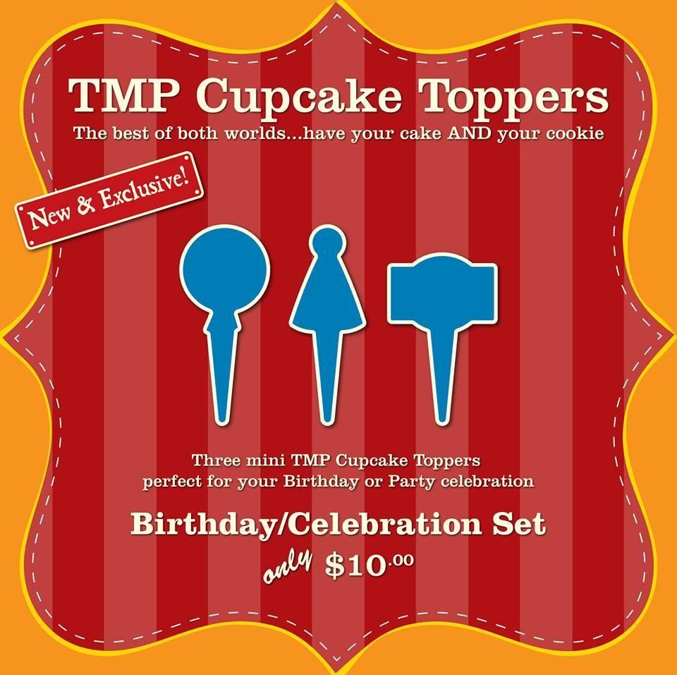 CT Birthday Set (Balloon, Party Hat, Plaque 55)