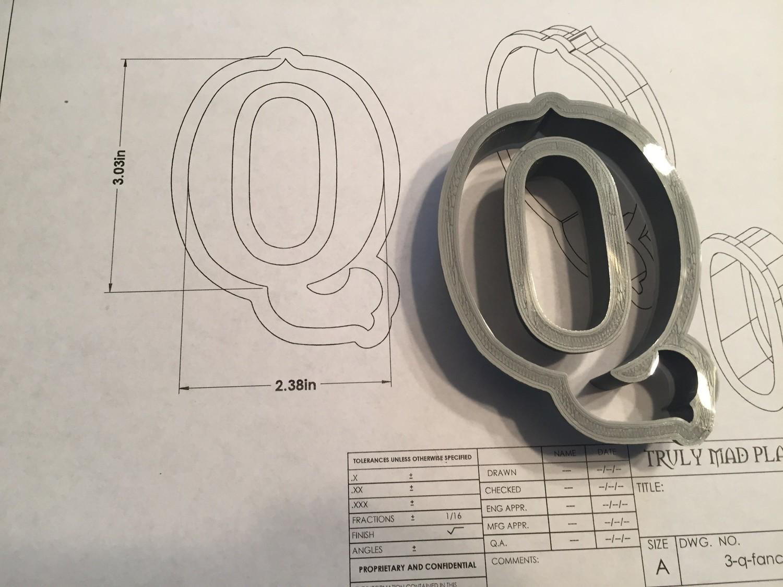 """Q 3"""" Fancy Font"""