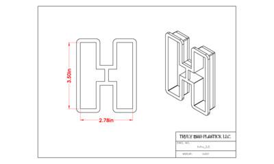 Helvetica H 3.5