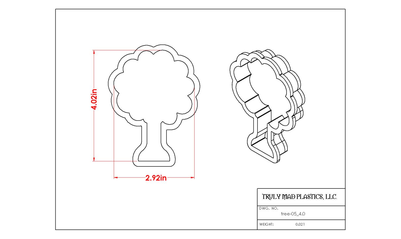 "Tree 05 (4.0"")"