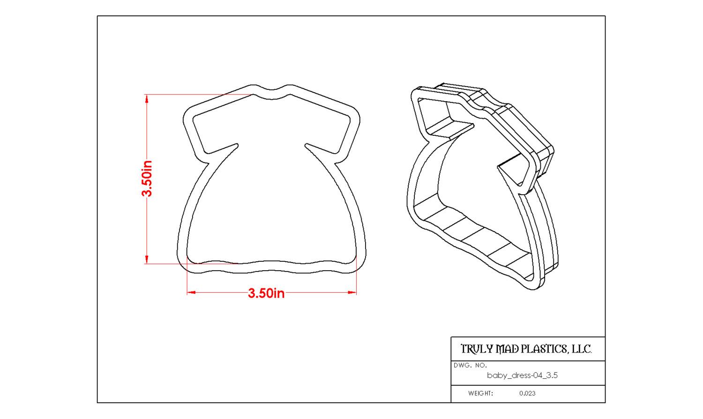 "Baby Dress 04 (3.5"")"
