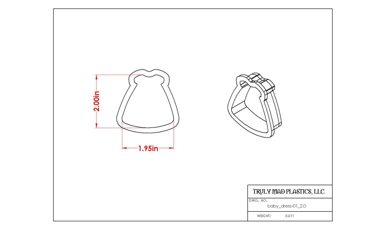"Baby Dress 01 (2.0"")"