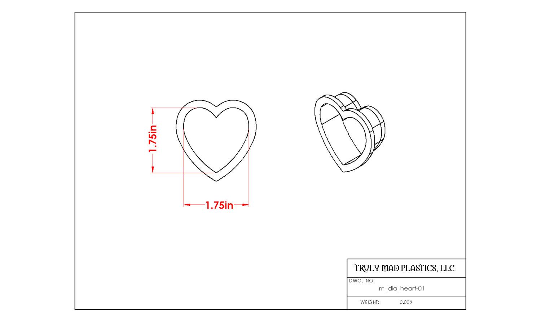 Mini Heart 01 (m dia heart)