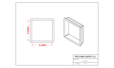 Square 2.625