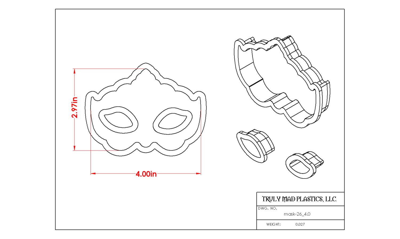 "Mask 26 4.0"""