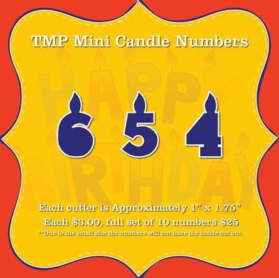 Candle Numbers Mini Set (0-9)