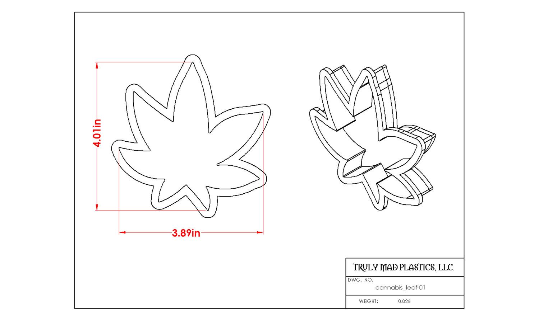 Cannabis Leaf 01