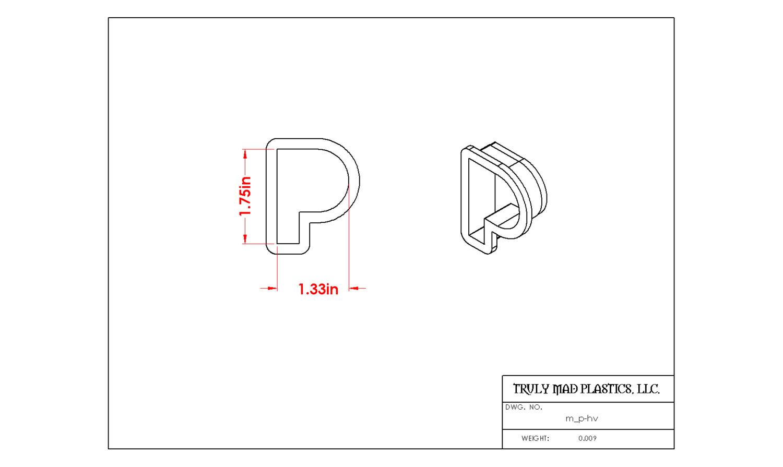 Mini P Helvetica