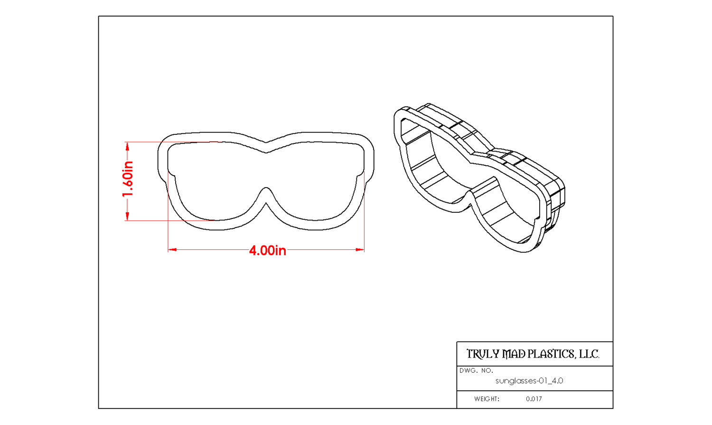 "Sunglasses 01 4.0"""