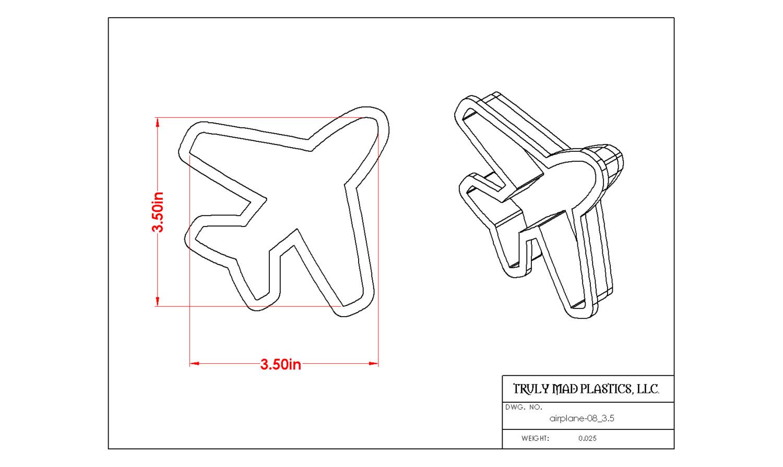 "Airplane 08 (3.5"")"