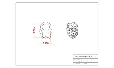 Mini Gingerbread Man 03
