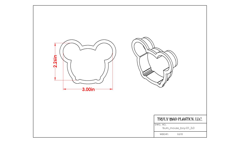 "Tsum Mouse Boy 01 3.0"""