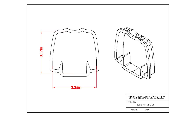 """Suit-Tux 01 (3.25"""")"""