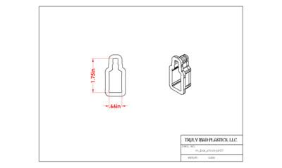 Mini Jack Daniels (m bar stock jd 01)