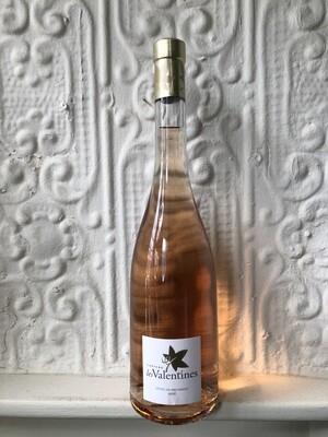 Cotes de Provence Rose, Ch. Les Valentines '17 (Provence)
