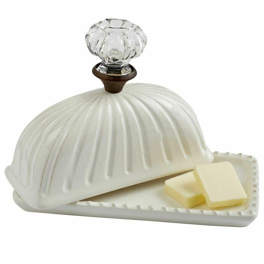 Knob Butter Dish
