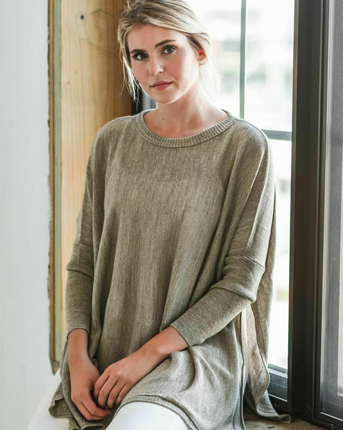 Catalina Sweater - Driftwood