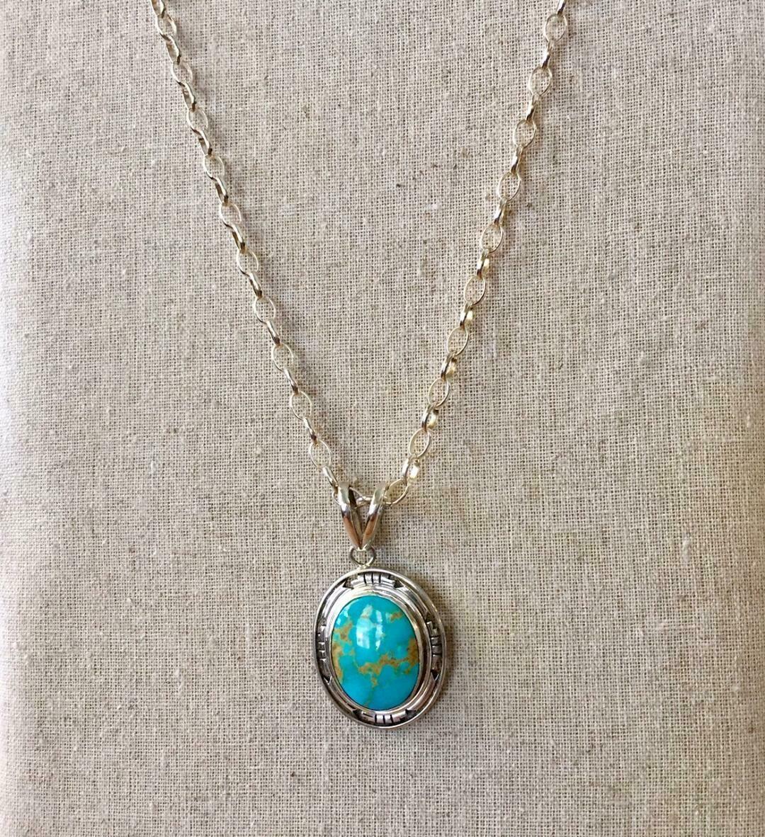 Framed Medallion Necklace