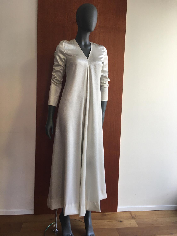 Seiden Lurex Kleid Claudia Krebser