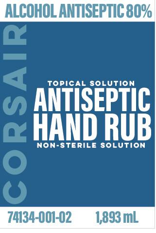 Case of 9, Half Gallon (64 oz) Hand Sanitizer