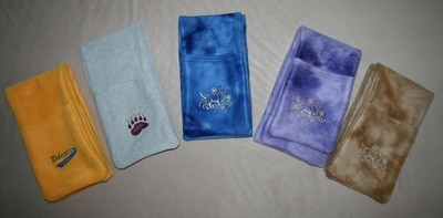 Scarf with Hand Warmers