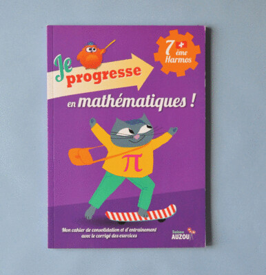 Je progresse en mathématiques - 7e Harmos
