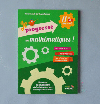 Je progresse en mathématiques - 11e Harmos