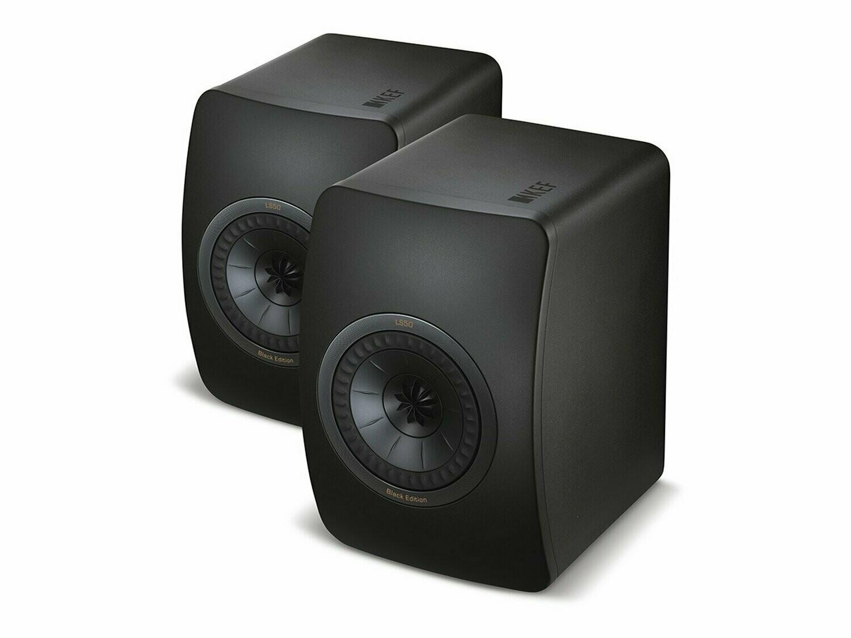 KEF LS50 (All Black) - (Paarpreis)