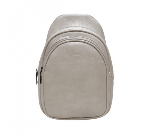 SQ ~ Leslie Sling Bag - Antique White