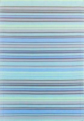 Mad Mat ~ Blue Stripe Runner