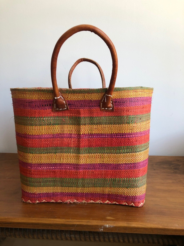 Madagascar Basket - Multi Stripe