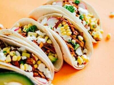 Peri-Peri Chicken Tacos (2) (lunch 12-3pm)