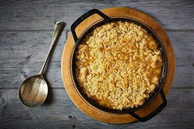 Apple & Pear Crumble