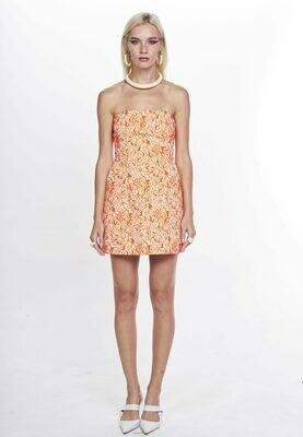 CALINDA DRESS (Orange) - Available 30 days from Order