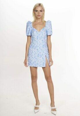 SAMANTAH DRESS (Blue)