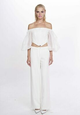 PYTHON TOP (White) - Available 30 days from Order