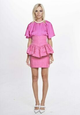 GRACE DRESS (Cerise) - Available 30 days from Order