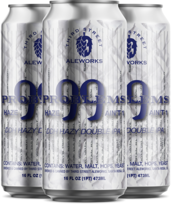 99 Problems Hazy Double IPA