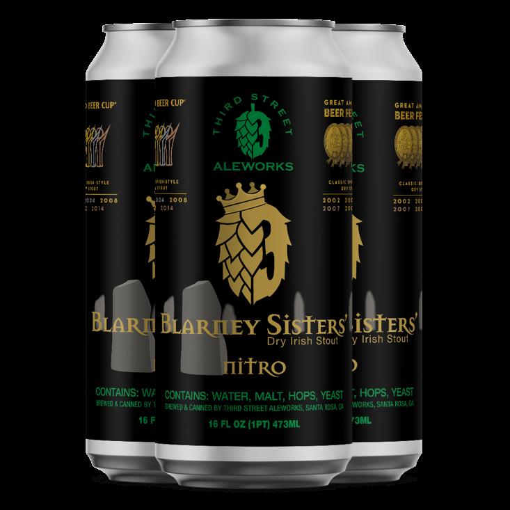 Blarney Sisters Dry Irish Stout - NITRO