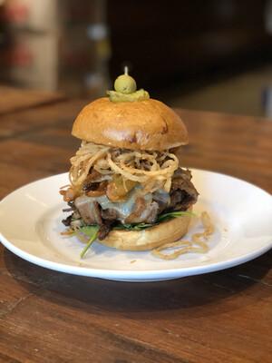 Flugger's Bacon Burger