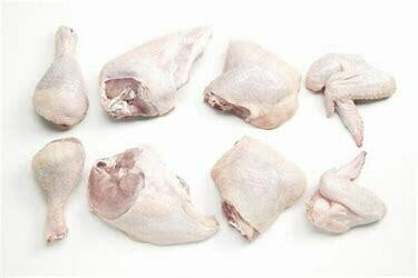 Chicken pieces fresh   (16 count assorted)