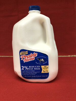 Milk 1 Gallon 2%