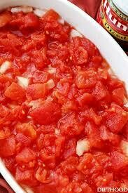 Side of Stewed Tomatoes