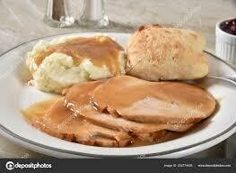 Meal-Turkey Dinner pick your headcount and sides