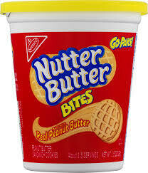 Go Paks-Nutter Butter Bites