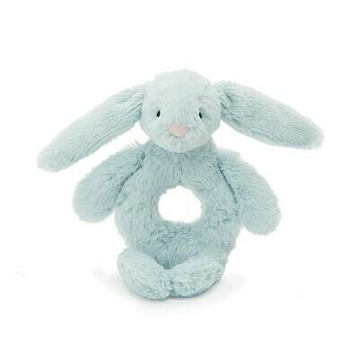 JC Bashful Beau Bunny Ring Rattle