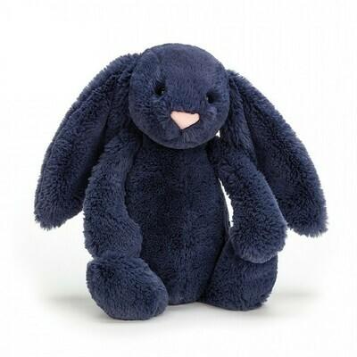 JC Bashful Navy Bunny Medium